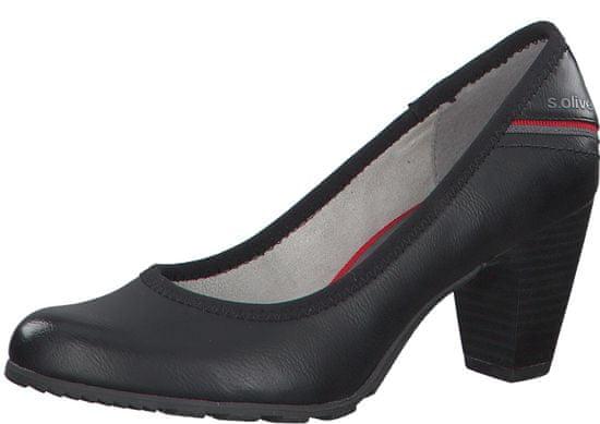 s.Oliver ženski čevlji s peto 22404