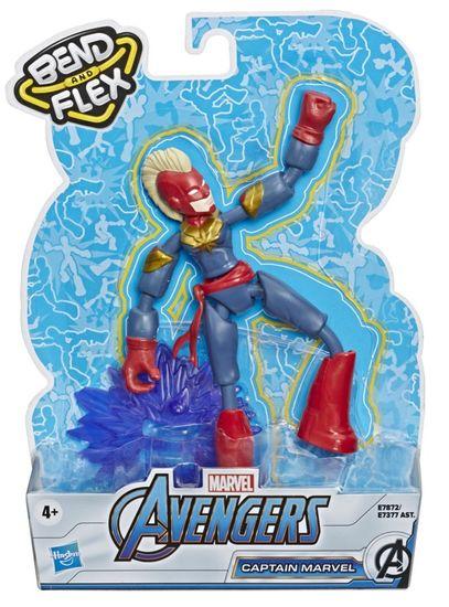 Avengers figura Bend and Flex Captain Marvel
