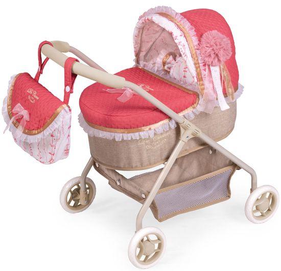 DeCuevas 86033 Moja prva kolica za lutke s vrećicom i dodacima Martina