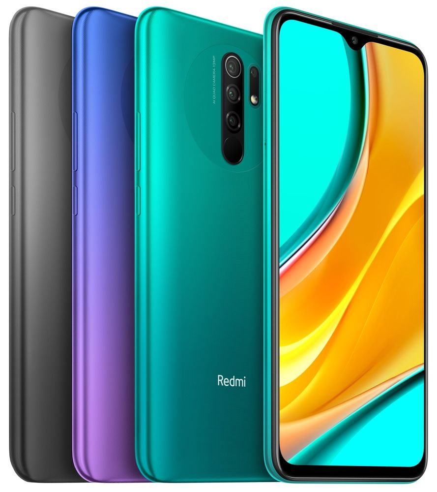Xiaomi Redmi 9, 4GB/64GB, Global Version, Sunset Purple