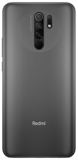 Xiaomi Redmi 9 mobilni telefon, 4GB/64GB, Global Version, Carbon Grey