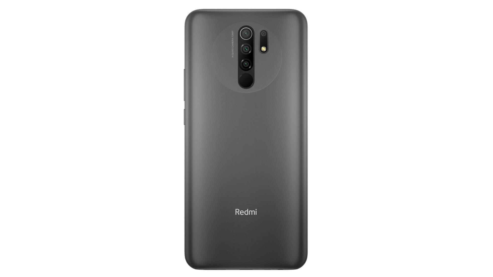 Xiaomi Redmi 9, štvornásobný fotoaparát, 4 objektívy, vysoké rozlíšenie, ultraširokouhlý, makro, bokeh efekt, hĺbka ostrosti