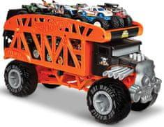 Hot Wheels Transporter Monster Trucks