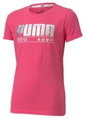 Puma Alpha Tee G dekliška majica, roza, 152