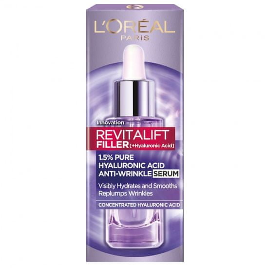 Loreal Paris Revitalift Filler Hyaluron serum, 30 ml