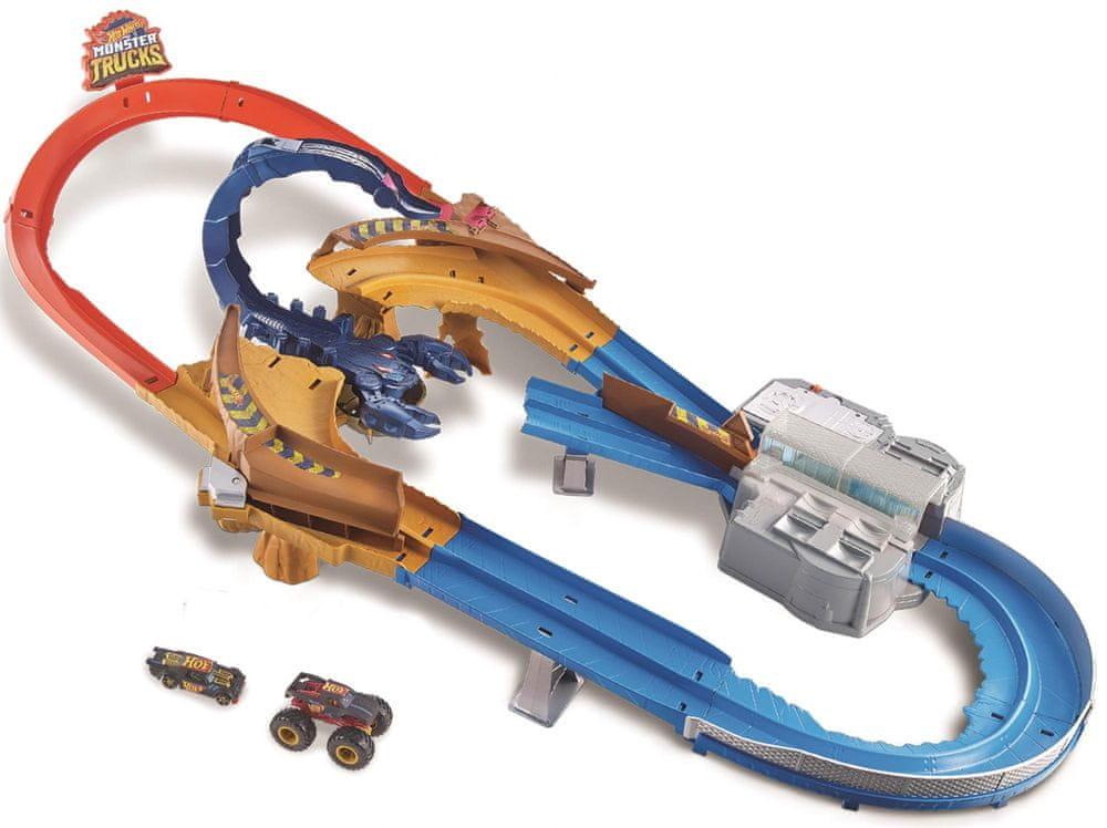 Hot Wheels Monster Trucks Škorpion Herní set