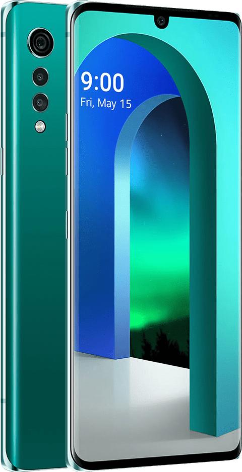 LG Velvet, 6GB/128GB, Aurora Green - rozbaleno