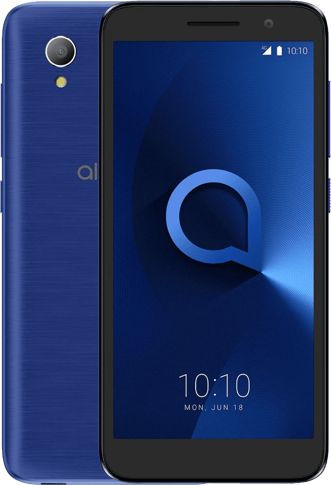 Alcatel 1 2019, 1GB/16GB, Metallic Blue (5033F)
