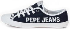 Pepe Jeans dámské tenisky Gegy Branding PLS30954 36 tmavě modrá