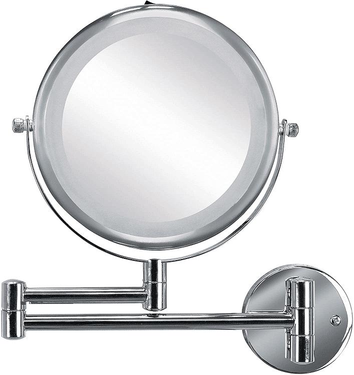 Kleine Wolke Kosmetické zrcadlo Brilliant stříbrná