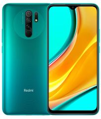 Xiaomi Redmi 9 mobilni telefon, 3GB/32GB, Global Version, Ocean Green