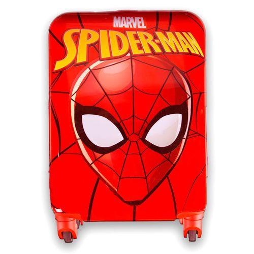 """Eplusm Otroški potovalni kovček ABS na kolesih """"Spiderman"""" - rdeča"""