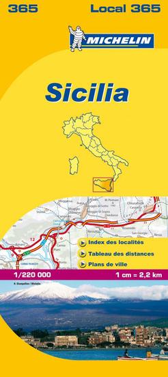 World Maps 365 Sicilia (Taliansko) mapa 1:200tis MICHELIN