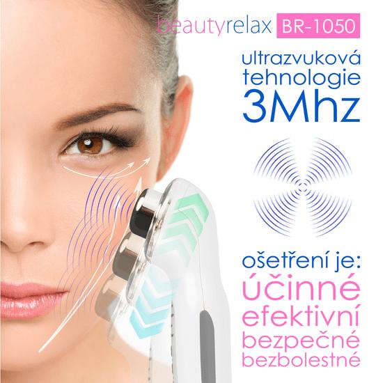 BeautyRelax Ultrazvukový kosmetický přístroj s fotonovou terapií BR-1050