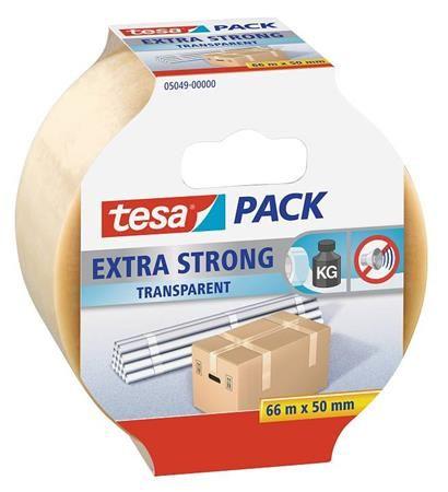 """Tesa Baliaca lepiaca páska """"Extra Strong 57171"""", transparentné, 50 mm x 66 m"""