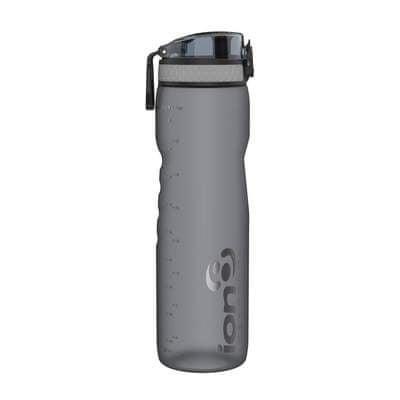 ion8 Láhev na vodu One Touch 1000 ml šedá
