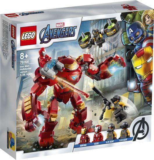 LEGO Super Heroes 76164 Iron Man Hulkbuster proti agentovi A.I.M.