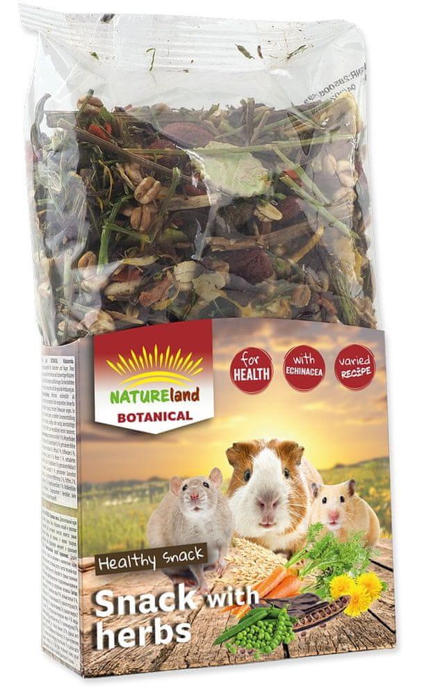 NATURE LAND Botanical bylinkový mix 4x150 g