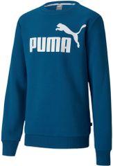 Puma chlapecká mikina ESS Logo Crew Sweat FL B 104, modrá