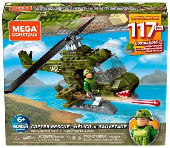 MEGA BLOKS Helikopter wojskowy