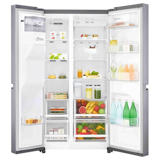 LG americká lednička GSL481PZXZ + 10 let záruka na kompresor