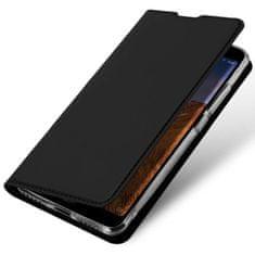 Dux Ducis Skin Pro usnjeni flip ovitek za Xiaomi Redmi Note 8 Pro, črna