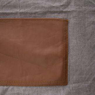 Orion Fartuch kuchenny bawełna/skóra DENIM