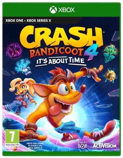 Activision Crash Bandicoot 4: It's About Time igra (Xbox One)