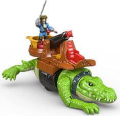 Fisher-Price Imaginext Krokodýl a pirát Hook