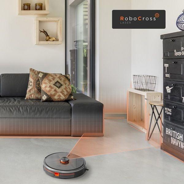 Concept VR3110 2 v 1 RoboCross Laser rotující kartáče