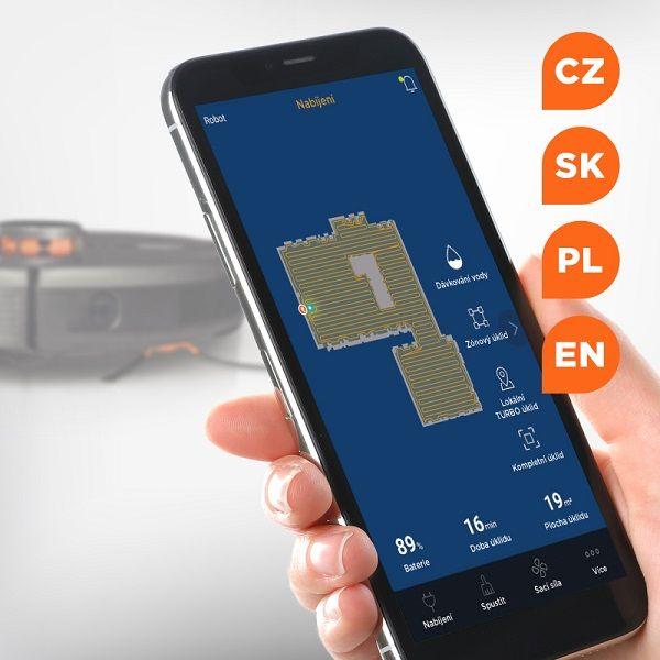 Robotický vysavač Concept VR3110 2 v 1 RoboCross Laser Concept Home