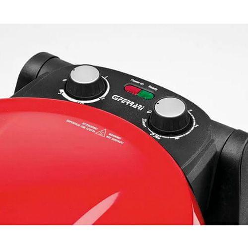 G3 Ferrari Pizza trouba G3ferrari, G10032 Napoletana, pizza trouba, teplota 400°C, dvojitý kámen, červená