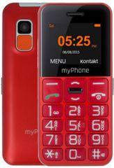myPhone Halo Easy, červený