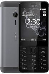Nokia 230 Dual SIM, černá
