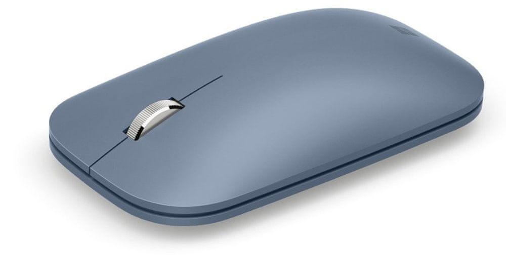 Microsoft Surface Mobile Mouse Bluetooth, Ice Blue (KGY-00046) - zánovní