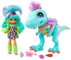 Mattel igračka Cave Club Rochelle & T-Rex