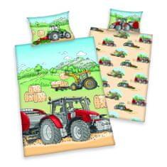 Herding Dětské povlečení traktor