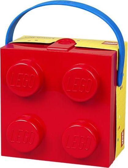 LEGO škatla z rdečim ročajem