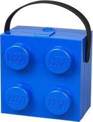 LEGO škatla z modrim ročajem