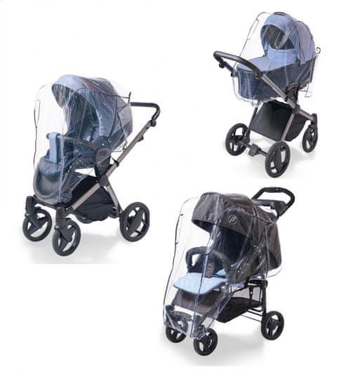 DIAGO univerzalni dežni plašč za voziček, 3v1