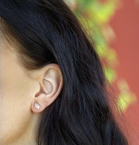 Beneto Ezüst fülbevalók cirkóniával AGUP1634S