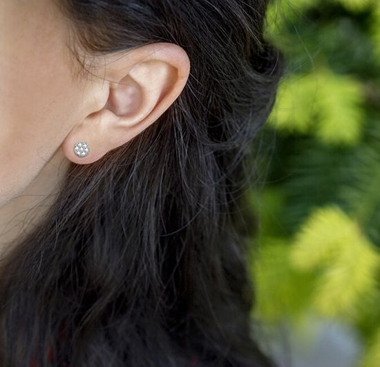 Beneto Ezüst fülbevalók AGUP1663S