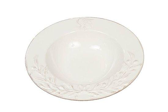 Artelore Ceramiczny talerz do zupy AVIGNON 22,5 x 5