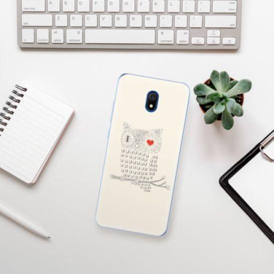 iSaprio I Love You 01 szilikon tok Xiaomi Redmi 8A