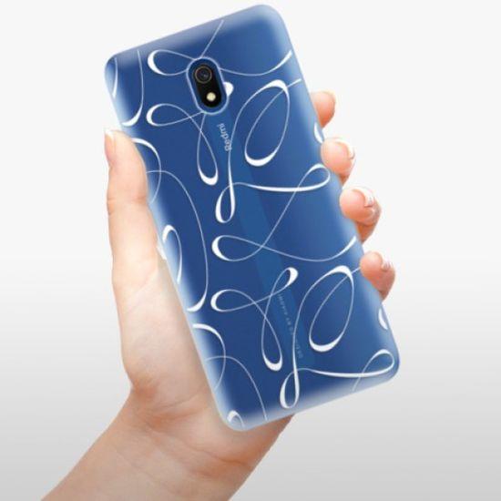iSaprio Silikonowe etui - Fancy - white na Xiaomi Redmi 8A
