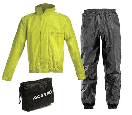 Acerbis pláštěnka Rain Suit Logo black/vision