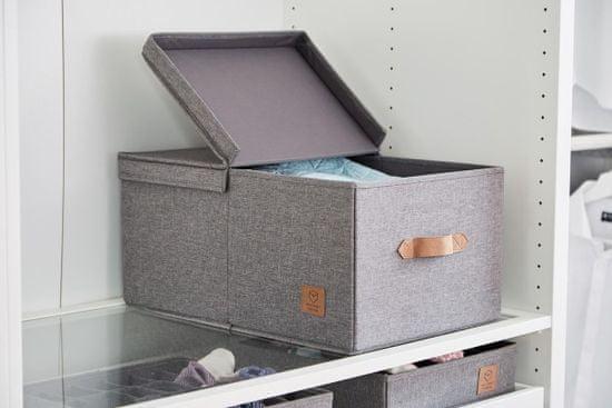 Love It Store It úložný box so skladacím vrchnákom, Premium