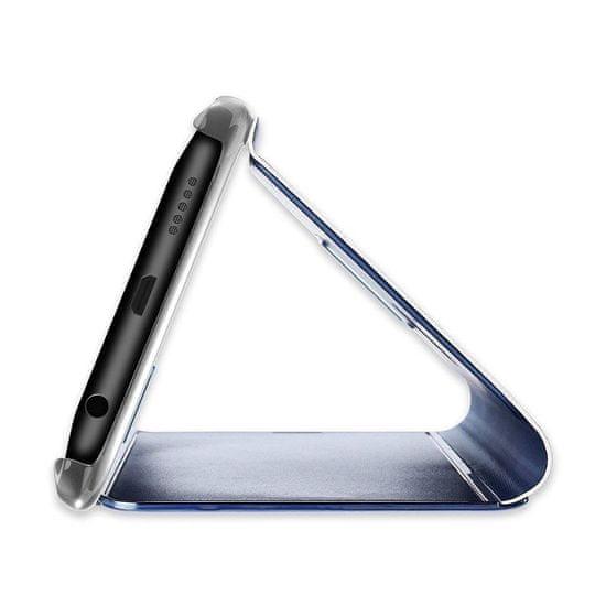 MG Clear View usnjeni ovitek za Xiaomi Redmi 9C, modra