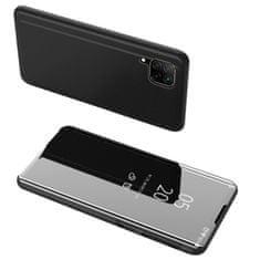 MG Clear View usnjeni ovitek za Huawei P40 Lite, črna