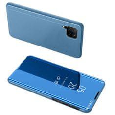 MG Clear View usnjeni ovitek za Huawei P40 Lite, modra